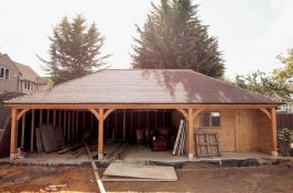 re-roofing project